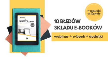 10 błędów składu e-booków webinar e-book